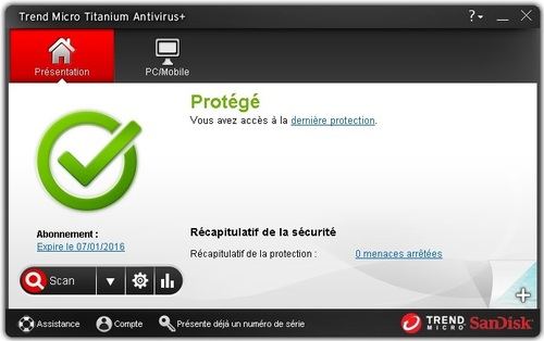 Trend Micro Antivirus + Security 2014 - Licence 6 mois gratuits