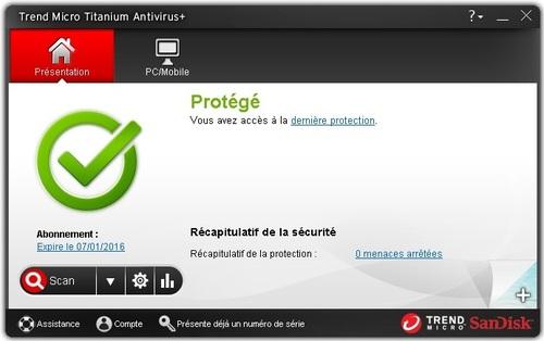 Trend Micro Antivirus + Security 2014 - Licence 6 mois gratuits
