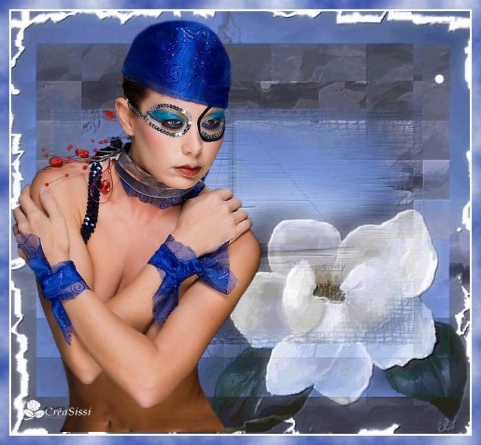 **Dame en Bleu  **