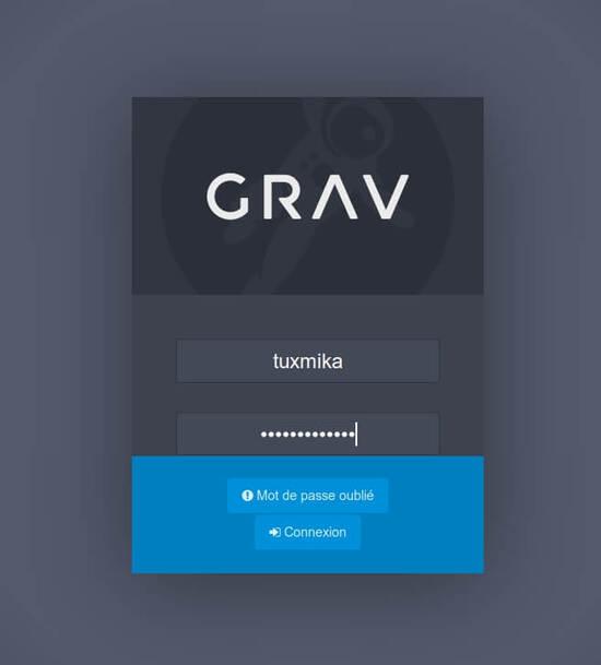 Installer Grav CMS sur Debian Buster