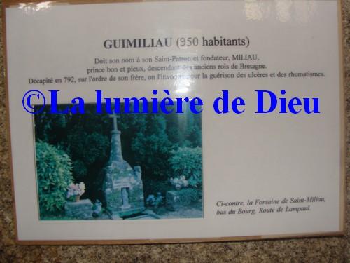 Guimiliau, fontaine Saint Miliau