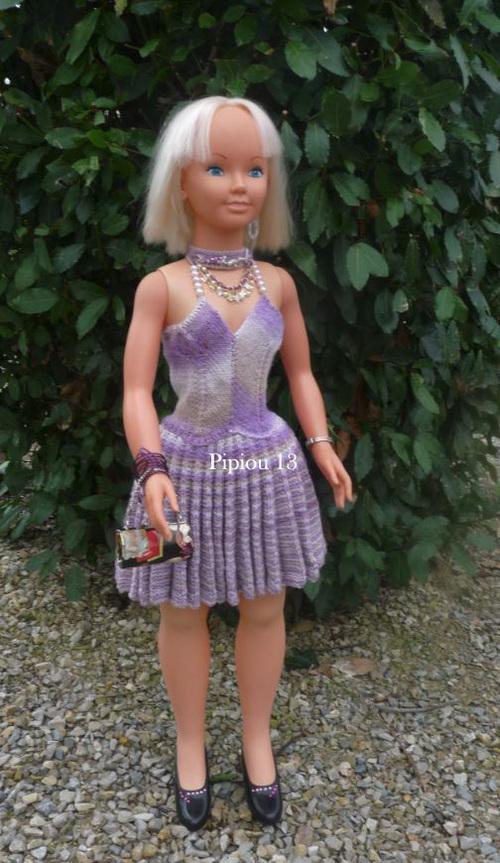 La robe pour Adriana : l'évolution