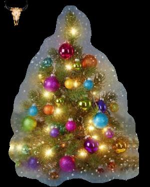 Tube Sapin de Noël tradi (mist)