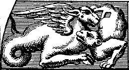 Enluminure des deux dragons.