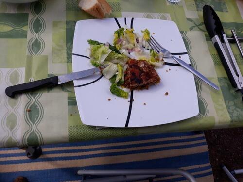 Pastilla salade verte