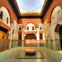 Medersa Bou Inania, Maroc