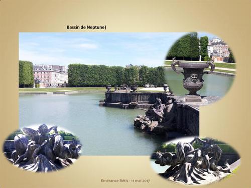 Destination : Bassin de Neptune à Versailles