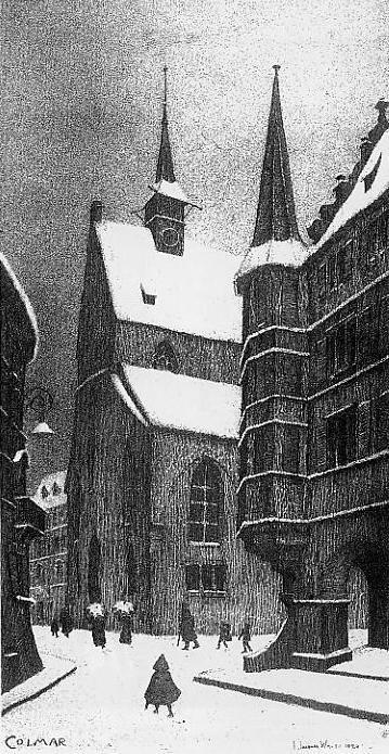 Grand'Rue hiver 1924