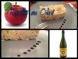 Risotto aux pommes et cidre