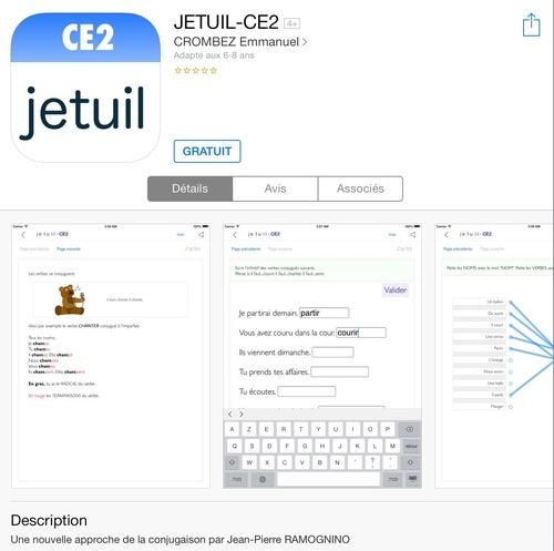 [appli gratuite] JETUIL CE2