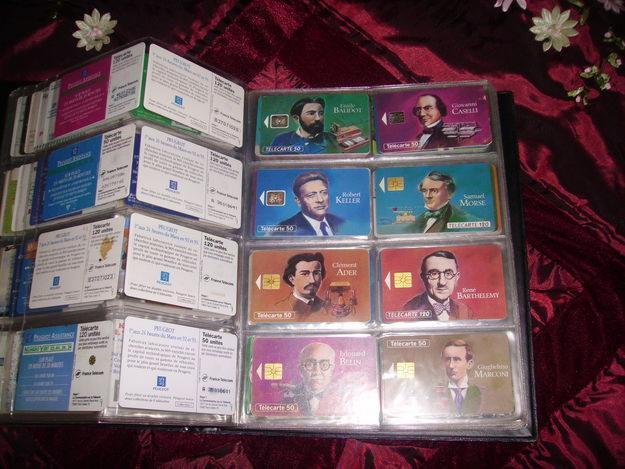 Bientôt vous verrez ma collection de cartes téléphoniques