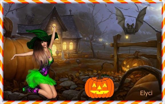 ma creation d'halloween