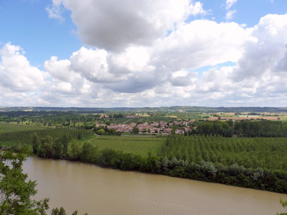 La Garonne à Auvillar