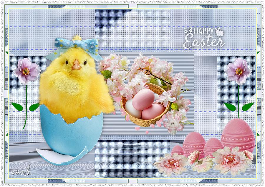 Happy Easter Amparito Silva