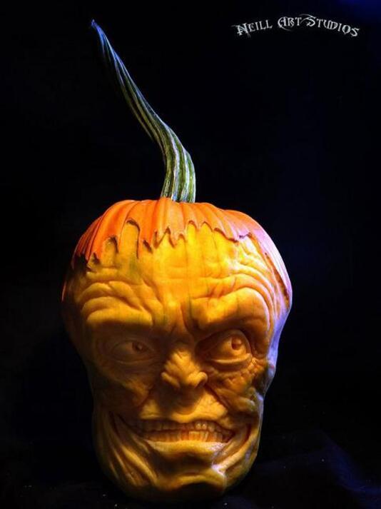 Les citrouilles d'Halloween