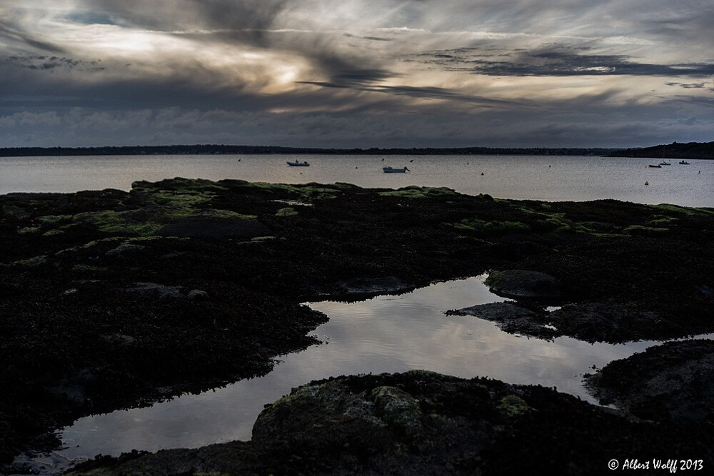 Bretagne  - 4 août - fin de journée