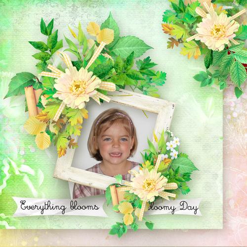 Blossomy day une collab de Kastagnette et Verena