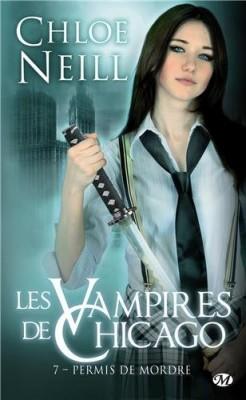 Couverture de Les Vampires de Chicago, Tome 7 : Permis de mordre