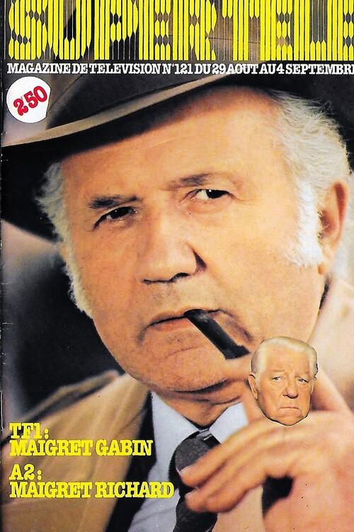 """Maigret c'est Jean Richard !  à la une de """""""