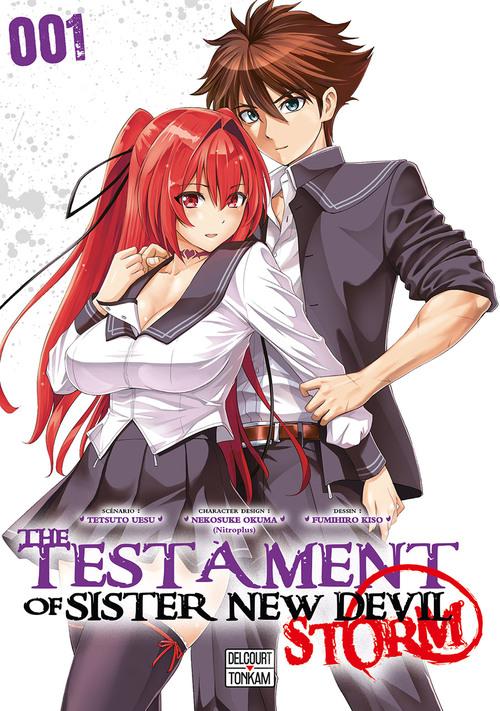 The testament of sister new devil storm - Tome 01 - Tetsuto Uesu & Fumihiro Kiso & Nekosuke Okuma