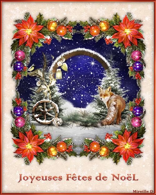 Joyeuses Fêtes de Noël!