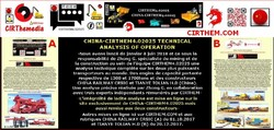 CHINA-CIRTHEM4.02025: analyse technique en opération.