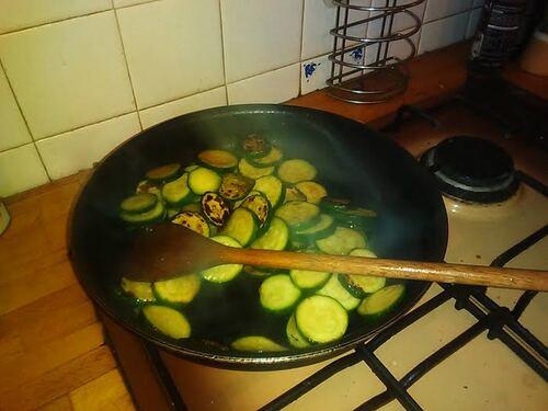 Tarte courgettes et noisettes {Vegan}