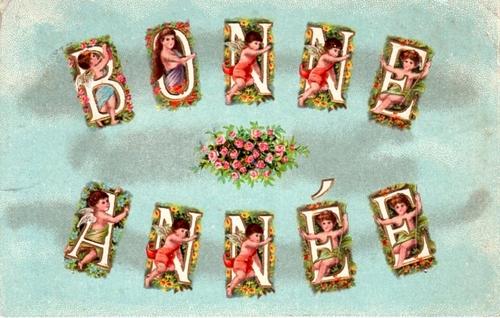 Bonne et heureuse année 2017 en cartes postales anciennes.
