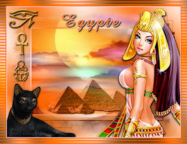 "Version de Renée - Tuto "" Egypte """