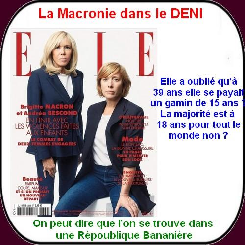 Les VERTS s'emballent , Darmanin se fâche et Macron se balade.