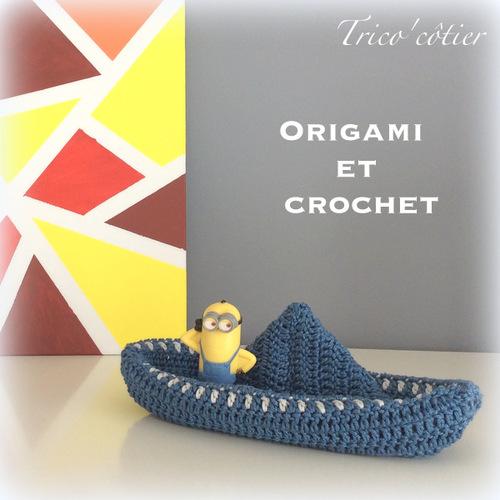 L'alliance du crochet et de l'origami