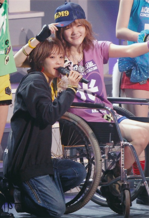 Ai Takahashi 高橋愛 Aika Mitsui 光井愛佳 Morning Musume concert tour 2011 Aki Ai BELIEVE ~ Takahashi Ai sotsugyo kinen special ~  モーニング娘。コンサートツアー2011秋 愛 BELIEVE