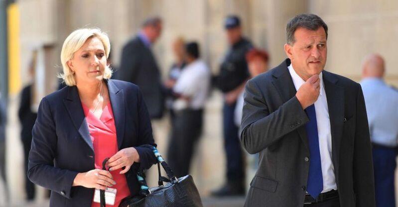 En union libre depuis 2009, Marine Le Pen et Louis Aliot ont décidé de poursuivre leur chemin séparément