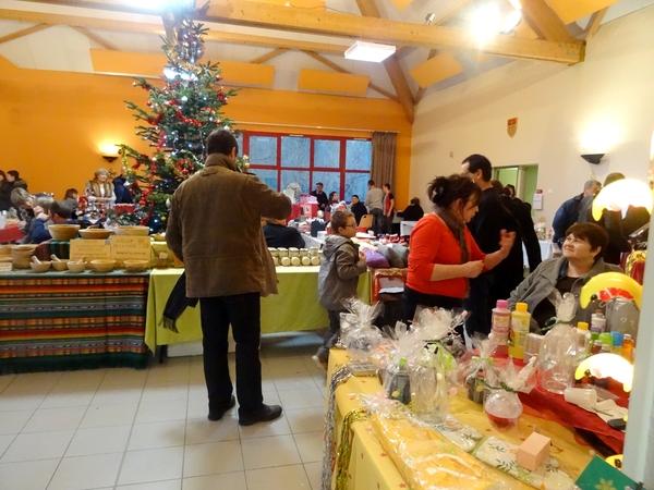 Le marché de Noël 2014 de Chamesson