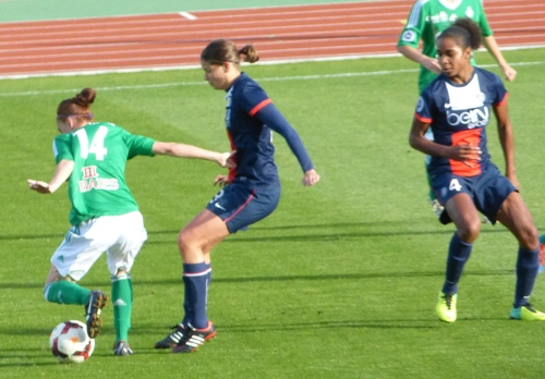 PSG - AS Saint Etienne (5 - 0) football féminin 3 novembre 2013