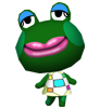 Gambette animal crossing WII