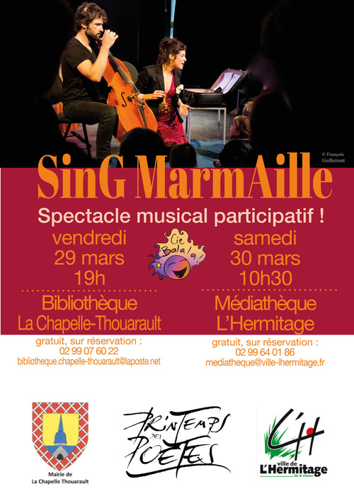 Vendredi 29 mars - Spectacle musical participatif
