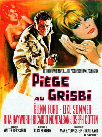 PIEGE AU GRISBI (THE MONEY TRAP) BOX OFFICE 1966