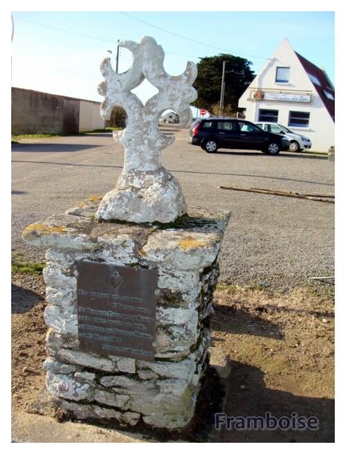 La Croix du Port du Collet aux Moutiers en Retz