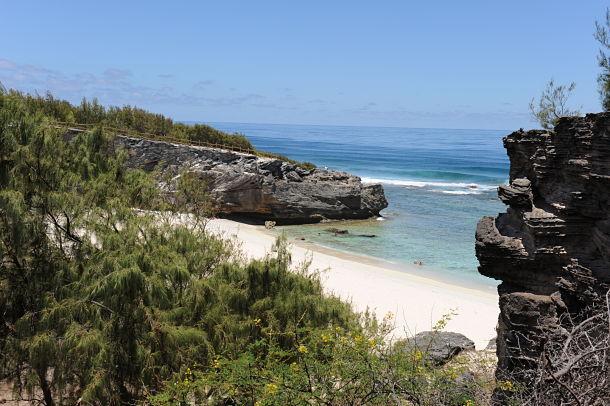 Le Trou d'Argent sur la côte sud-est fait partie de la chasse aux trésors