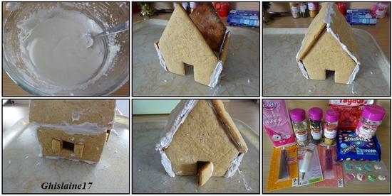 Maison Pain d'Epices du Père Noël