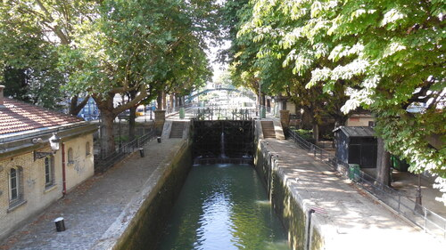Le canal St-Martin