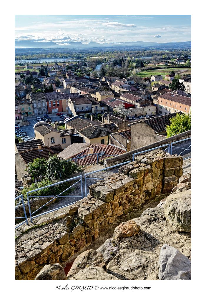 Charmes sur Rhône et Beauchastel entre vallées du Rhône et de l'Eyrieux