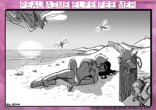 Peau-Aime  Elfe-Fée-Mer