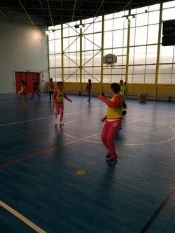 Les CM2a s'éclatent au handball