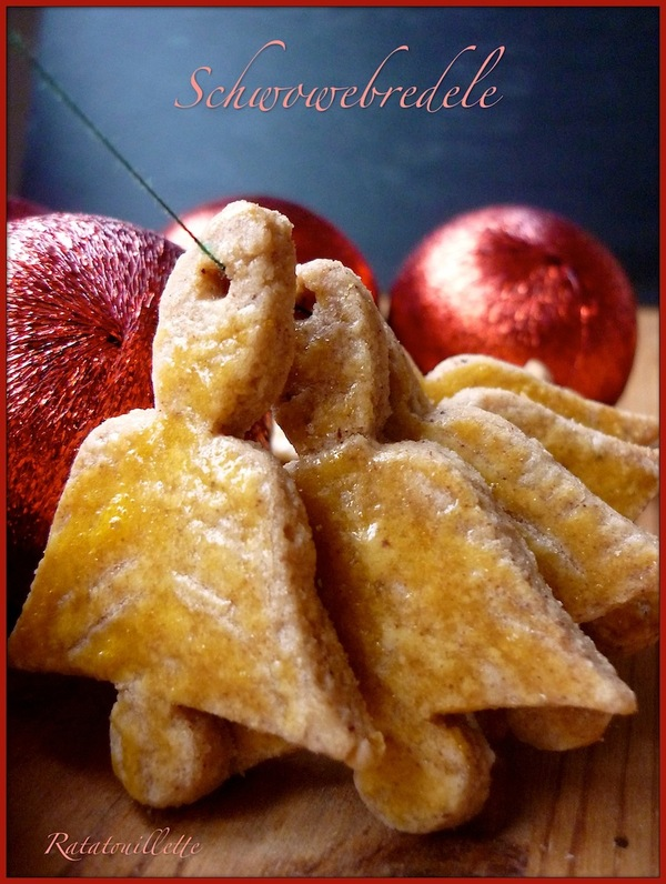 Petits gâteaux de Noël 3 : Schwowebredele