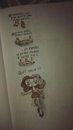 Jour 13 : Petit partages de jolies merdes (dessins)