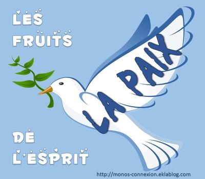 Le Fruit de l'Esprit : La Paix - Lecture et Prière