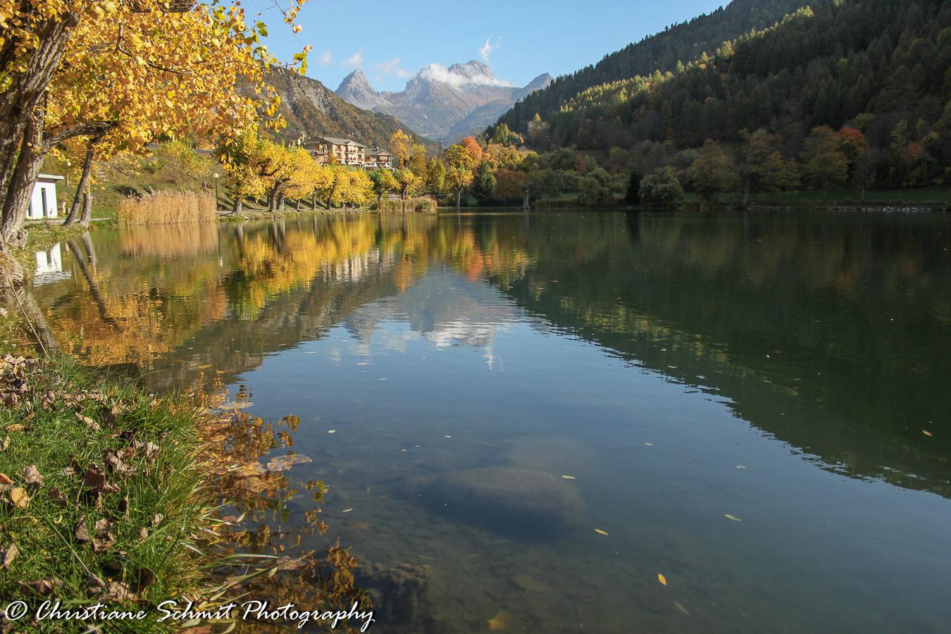L'automne      En vallée d'Ubaye