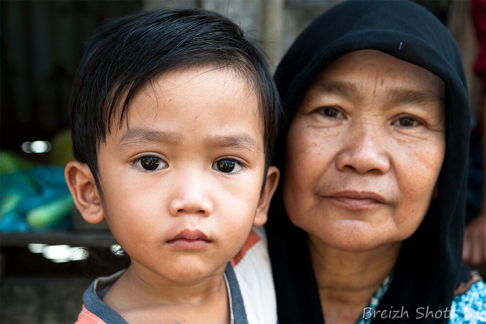 Portraits Cham au Cambodge